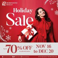 Robinsons Malls Holiday Sale