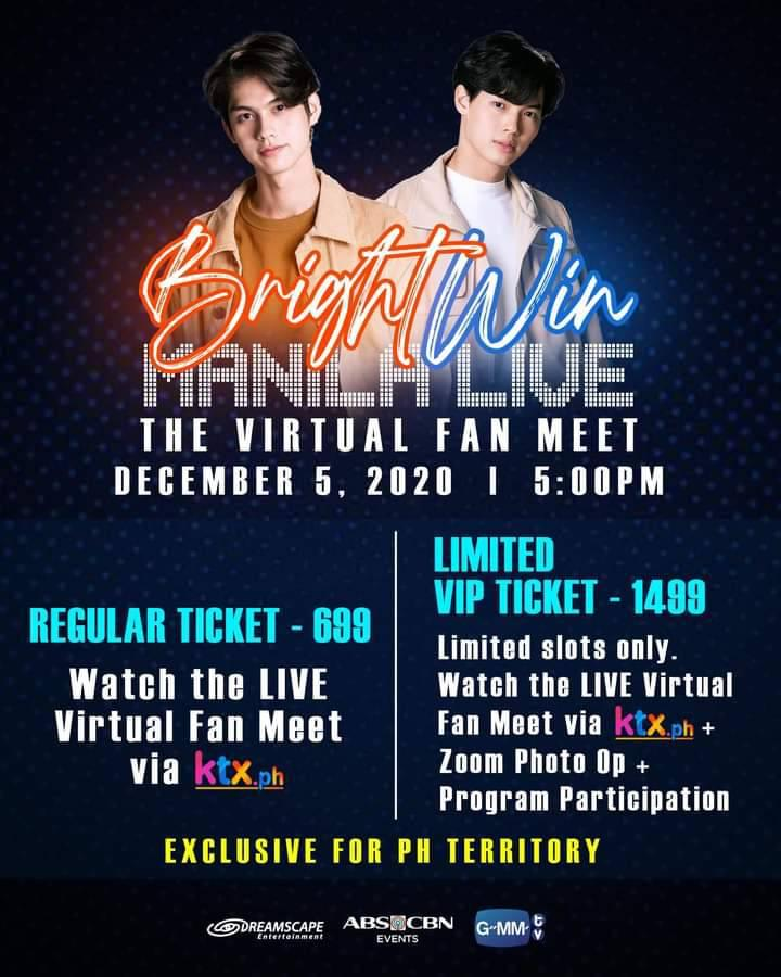 BrightWin X Manila Live: The Virtual Fan Meet