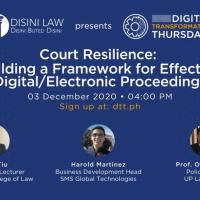 Court Resilience: Building a Framework for Effective Digital/Electronic Proceedings