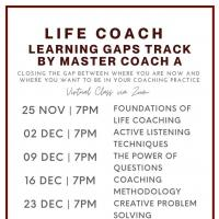 Life Coach Learning GAPS Track by Master Coach A