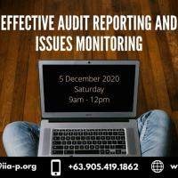 Effective Audit Reporting and Issues Monitoring