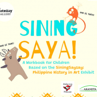 SiningSaya, the Art + History Children's Workbook for A Cause