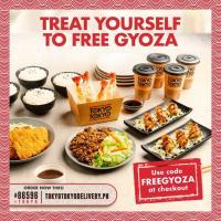 Tokyo Tokyo FREE Fried Gyoza Promo