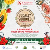 LOCALLY SOURCED: A GARDENING AND FRESH LOCAL PRODUCE FAIR