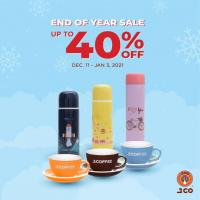 J.CO Donuts upto 40% OFF End of Year Sale