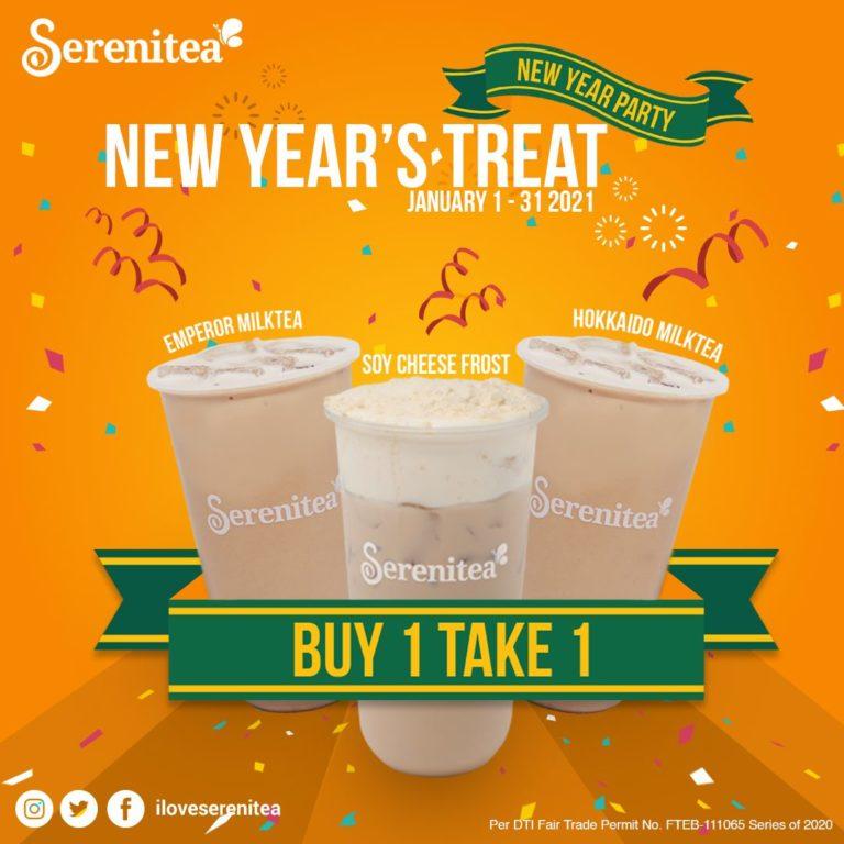 Serenitea BUY1 TAKE 1 New Year Treat