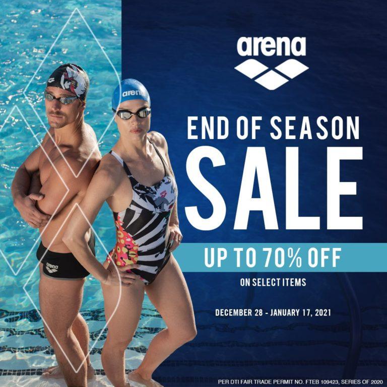 Arena upto 70% OFF End of Season Sale