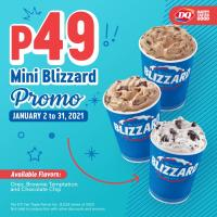 Dairy Queen P49 Mini Blizzard Promo