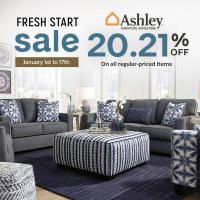 ASHLEY FRESH START SALE