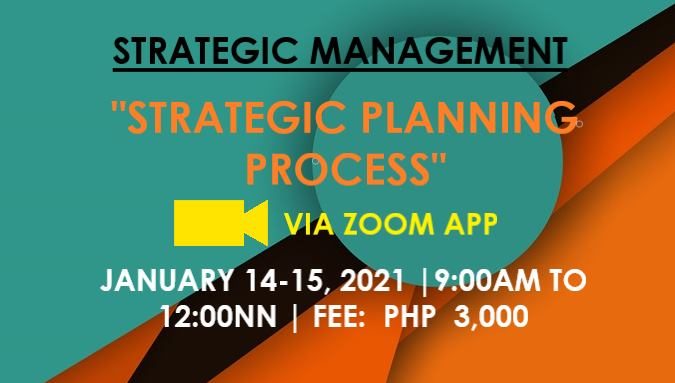 STRATEGIC PLANNING PROCESS