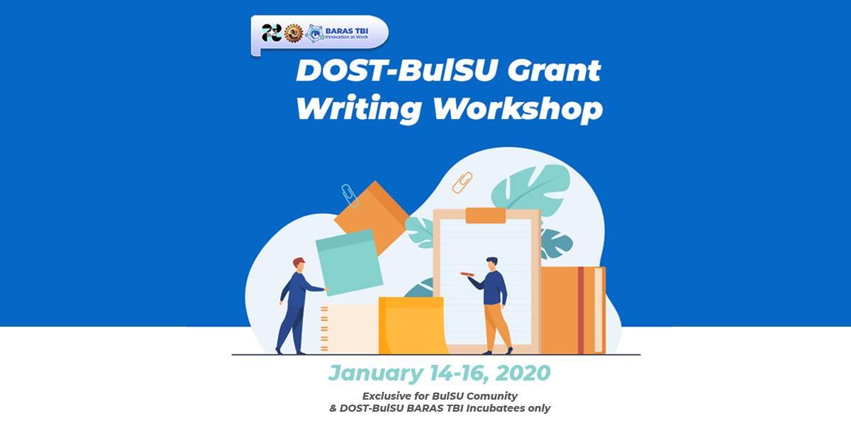 DOST-BulSU Grant Writing Workshop