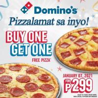 Domino's Pizza BUY 1 TAKE 1 Pizzalamat Promo