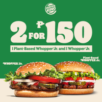 Burger King P150 Plant-Based Whopper Challenge