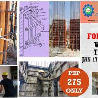 WEBINAR ON BASIC FORMWORKS