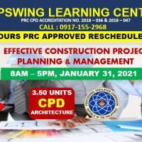 Effective Construction Project Planning Management