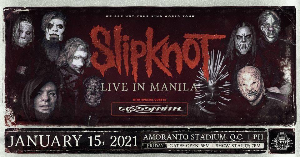 Slipknot Live in Manila