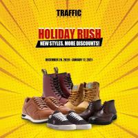 TRAFFIC Footwear Holiday Rush
