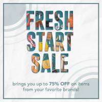 Ayala Malls upto 75% OFF Fresh Start Sale