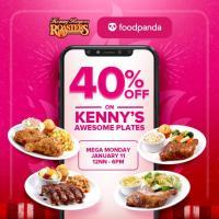 Kenny Rogers – 40% OFF FoodPanda Promo