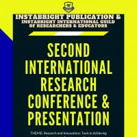 Second INTERNATIONAL RESEARCH CONFERENCE & PRESENTATION