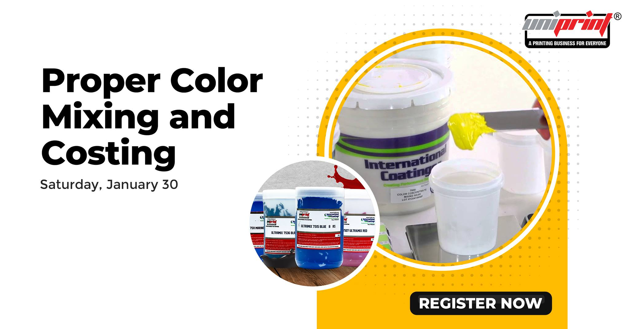 Proper Color Mixing and Costing