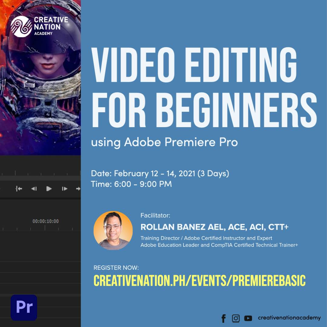 Video Editing for Beginners using Adobe Premiere Pro