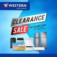 Western Appliances CLEARANCE SALE