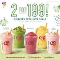 Jamba Juice – 2 for P199 Promo
