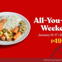 Max's All-You-Can™ Weekends for only P499