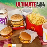 McDonald's – Ultimate Burger McShare Promo