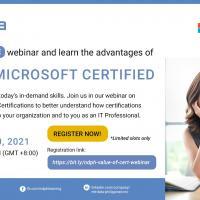 FREE Webinar: Being Microsoft Certified