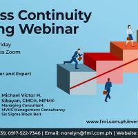 Business Continuity Planning Webinar