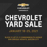 Chevrolet Yard sale