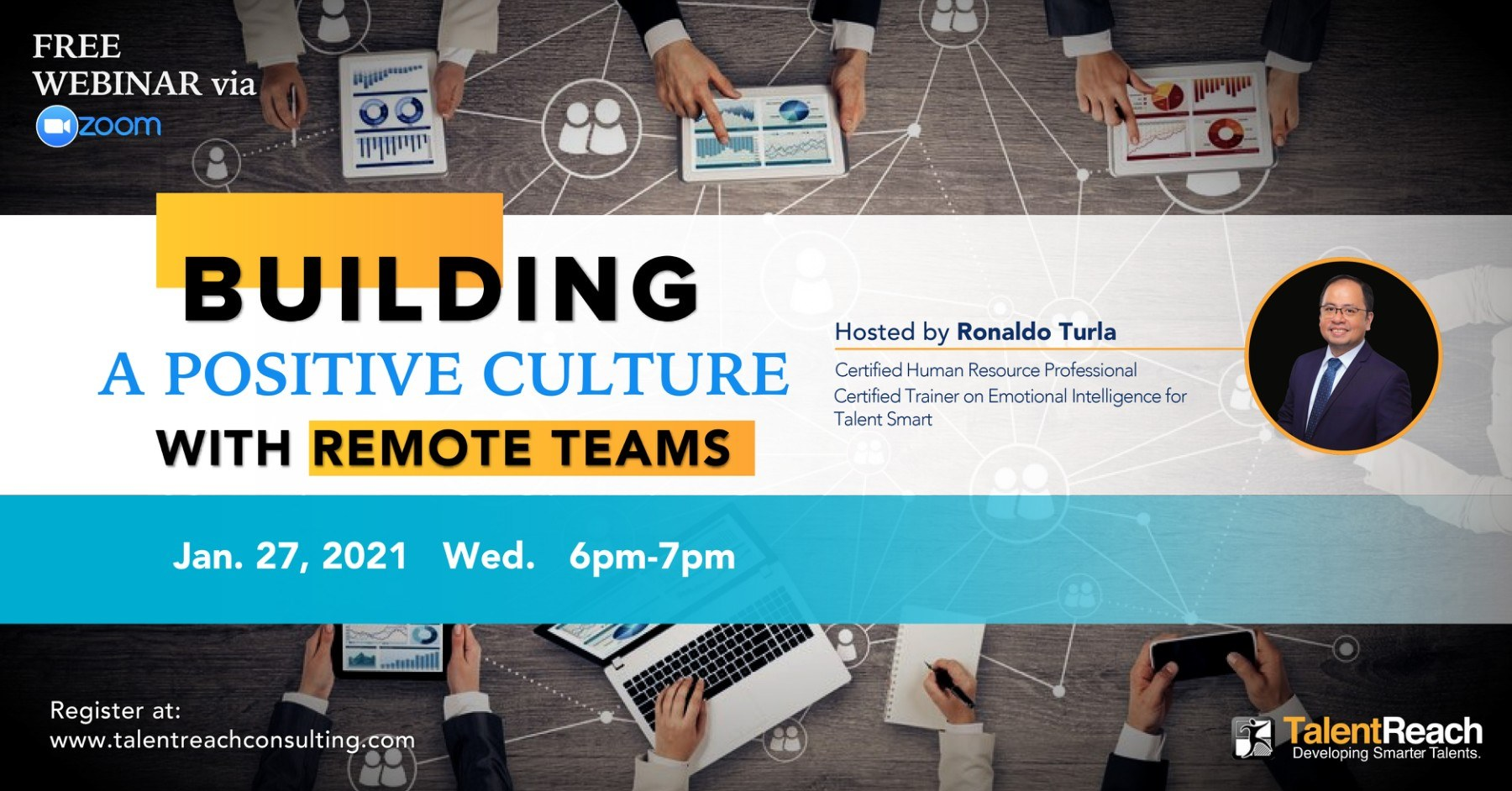 BUILDING A POSITIVE CULTURE WITH REMOTE TEAMS