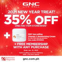GNC 35%OFF 1 favorite supplement STOREWIDE