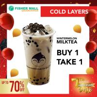 Cold Layer's Wintermelon Milktea BUY 1 TAKE 1 deal