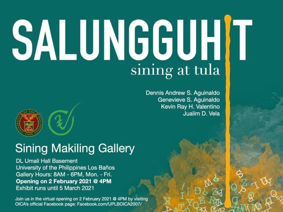 SALUNGGUHIT: Sining at Tula