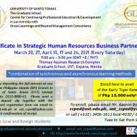 Certificate in Strategic Human Resources Business Partnership