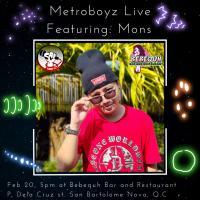 Metroboyz LIVE at Bebequh Bar and Restaurant