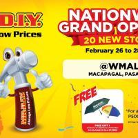 MR.DIY NATIONWIDE GRAND OPENING