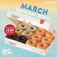 Krispy Kreme March Original Deals
