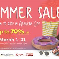 Dive into a fun summer shopping experience in Araneta City