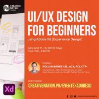 UI/UX Design for Beginners using Adobe Xd