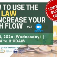 HOW TO USE THE TAX LAW TO INCREASE YOUR CASH FLOW