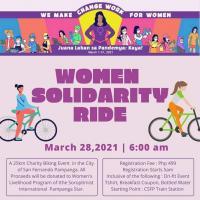 Xyclo Women Solidarity Ride