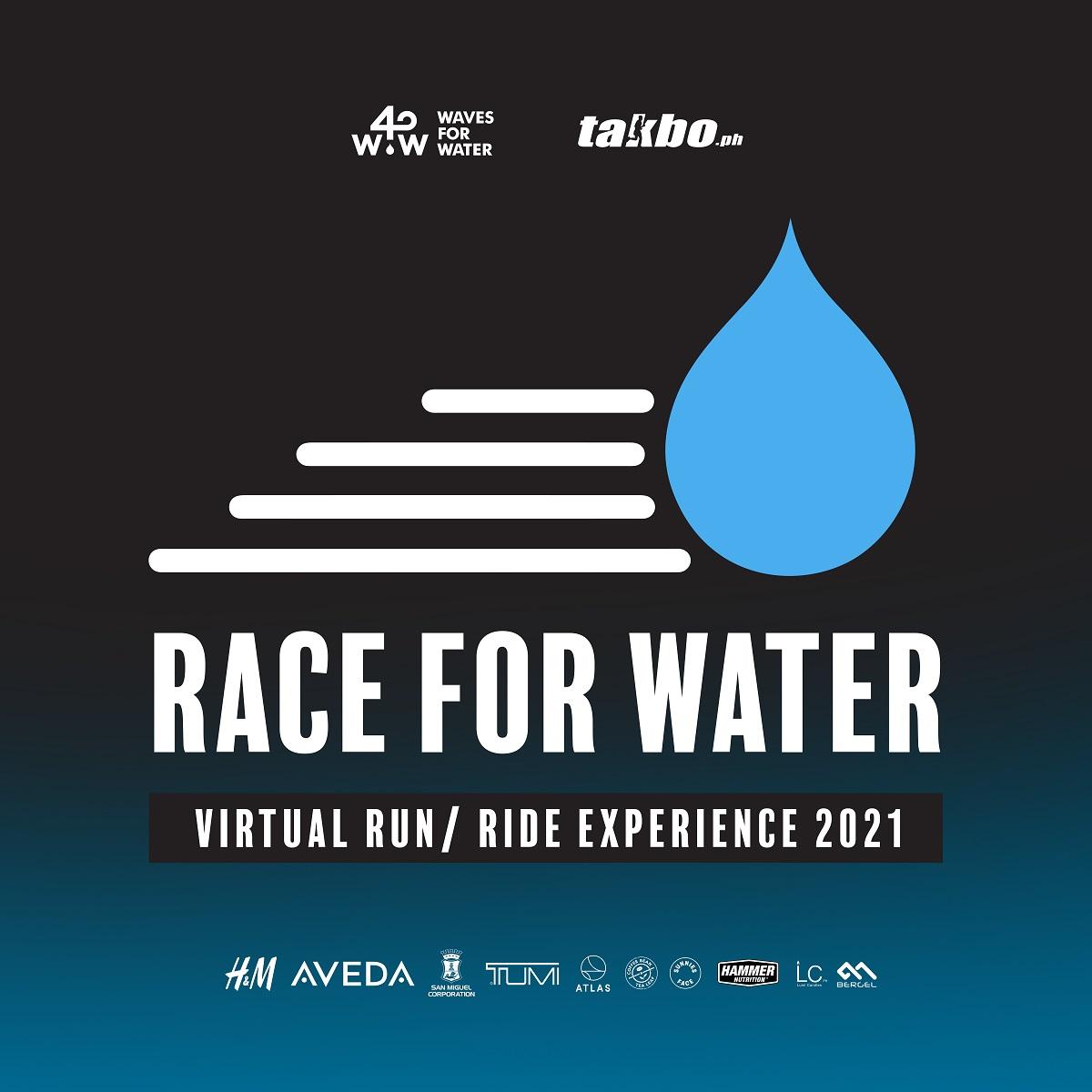 Race for Water Virtual Run 2021