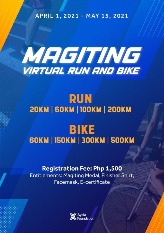 Magiting Virtual Run 2021