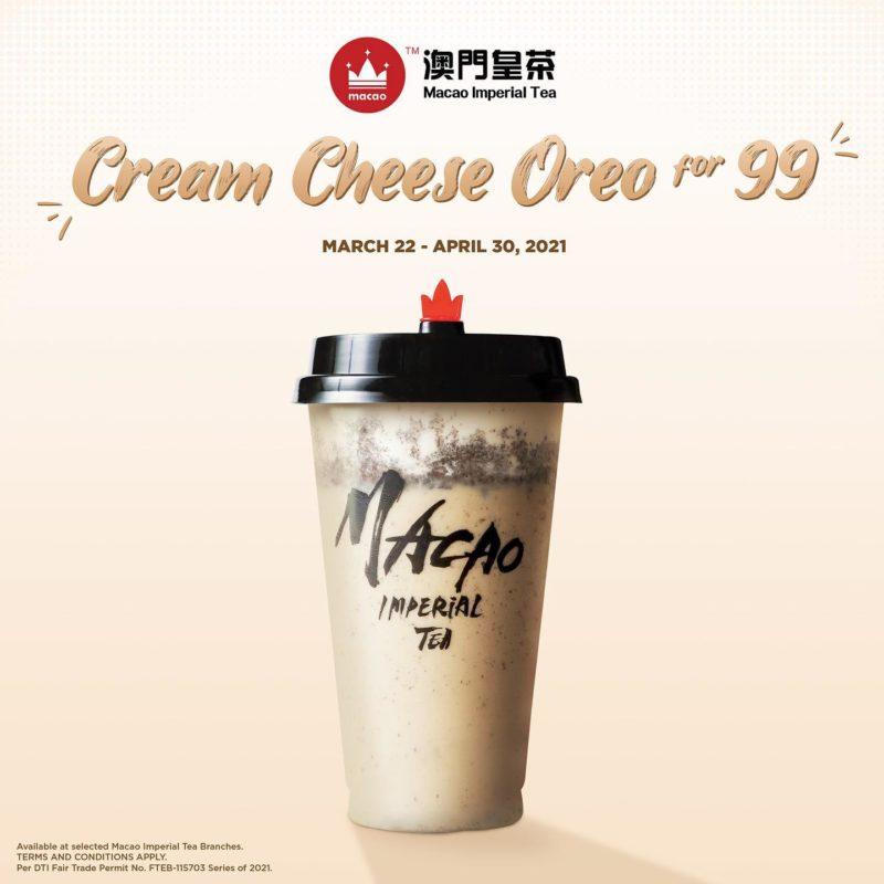 Macao Imperial Tea P99 Cream Cheese Oreo Promo