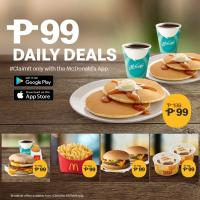 McDonald's P99 Daily Deals