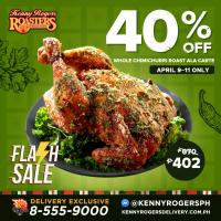 Kenny Rogers 40% OFF Chimichurri Roast Chicken Ala Carte